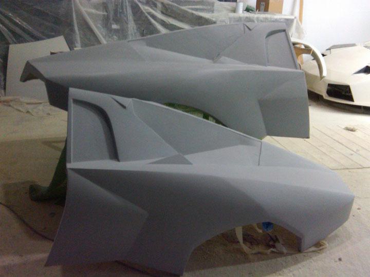 Planos De Lamborghini Murcielago P 225 Gina 45